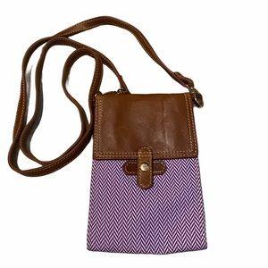 Barrington Bag Crossbody Wallet Leather Tr…